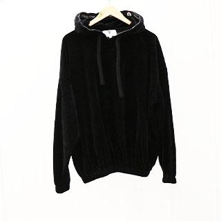 Męskie dresy welurowe Black