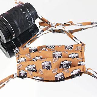 Maseczka ozdobna Fotoreportera
