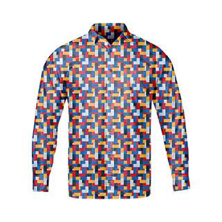 Koszula męska Klocki (czas realizacji do 14 dni)