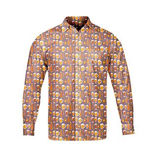 Koszula męska Piwna (czas realizacji do 14 dni)