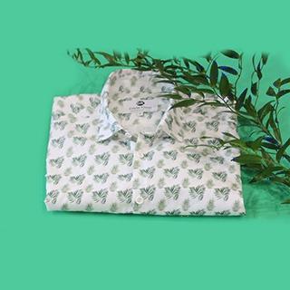 Koszula męska Roślinna