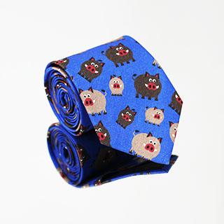 Krawat Dzik jest dziki