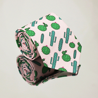 Krawat Kaktusy