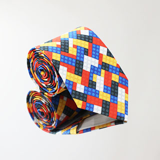 Krawat Klocki