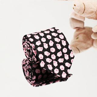 Krawat Kolorowe Świnki