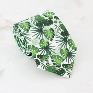 Krawat Palmowy Raj