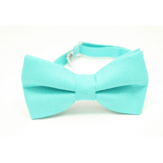 mint bow tie for shirt from Edyta Kleist