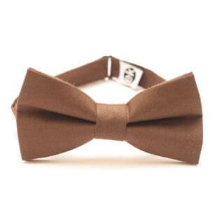 elegant brown bow tie from Edyta Kleist