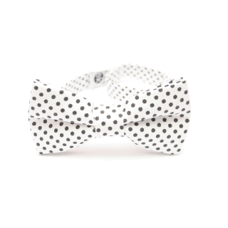 classic bow tie with dots from Edyta Kleist
