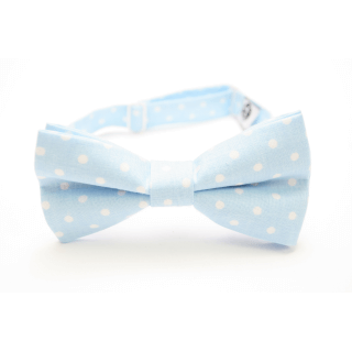 modern bow tie with dots