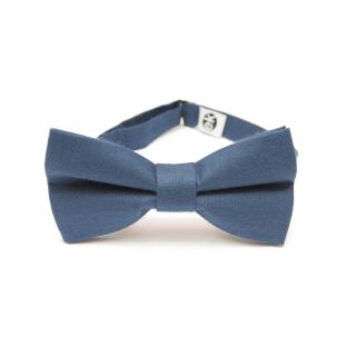 elegant dark blue bow tie from Edyta Kleist