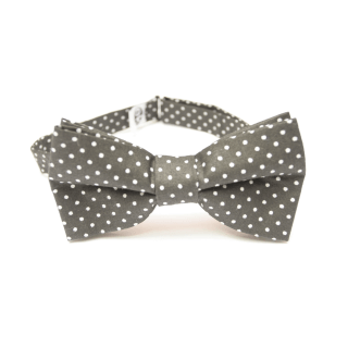 stylish bow tie with dots present for boyfriend