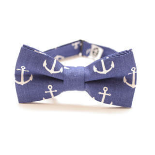 bow tie with anchors it's an ideal Porto bow tie for sailors