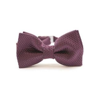 prezent dla chłopaka w kolorze fioletowym – męska muszka