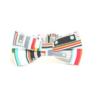 mucha dla hipstera z symbolem kasety magnetofonowej