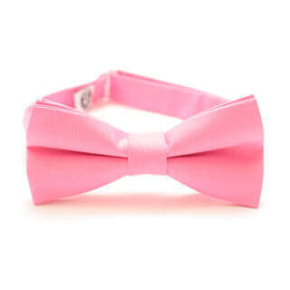 pink bow tie for suit for a  stylish man