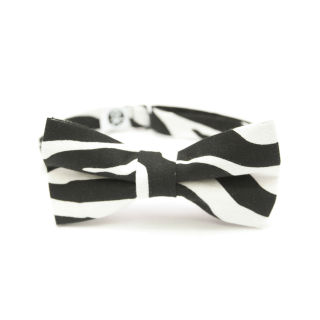 white-black bow tie for suits