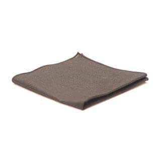 black pocket square from Edyta Kleist