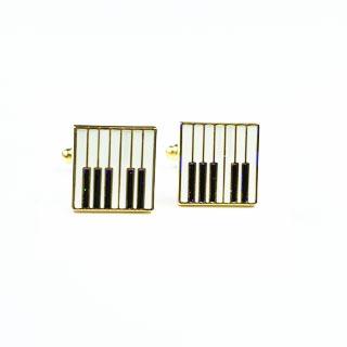 Spinki do mankietów Piano